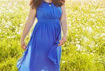 Plus Size Summer-Dress / frische moderne Sommermode in großen Größen fresh and modern summer cloth for plus size fashion