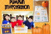 Halloween:  Pumpkin Ideas/Activities / by Bonnie Wolf