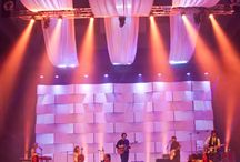 """Church Stage Designs / This board is my """"Idea Wall"""" for all things stage.  Whether it's a design on our big stage or the small stage design or design ideas for VBS. I love to design for my church and see the inspirations from other designers."""