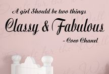 "Coco♥ / ""In order to be irreplaceable one must always be different."" - Coco Chanel"