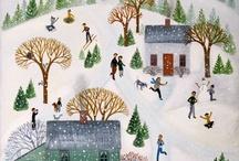 Illustration - lovely houses