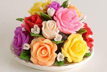 Bouquet de Fleurs Savon