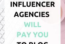 Influencer Marketing / Influencer | Influencer Tips | Influencer Marketing | Social Media Influencer | Blogging Influencer | Working with Brands