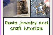 Resin / Tips, tricks, tutorials and inspiration for making jewelry with resin