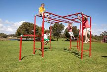Funky Monkey Bars / Outdoor play equipment for home backyards that kids love and parents love. Fully portable yet tough enough for big kids, lots of friends and the whole family. Available online www.funkymonkeybars.com