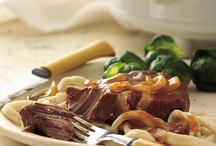 slow-cooker beef / by Kimberly Frick Arndts
