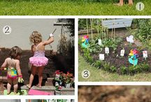 ideas for kids gardens
