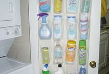 Home organization / I love to stay organized! It just simplifies life.