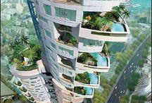 unusual architecture / außergewöhnliche Architektur
