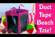 duct tape crafts / by Lindsay Weirich