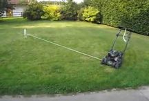 mowing patterns / by Robert Welch