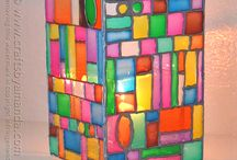 Craft & DIY: Glass / crafts, diy, tutes and more using glass