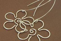 Alambre / Bisuteria, adornos y otros hechos con alambre