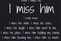 ★missing him quotes★