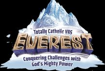Everest Totally Catholic VBS / NEW VBS for 2015! Embark on an icy expedition where kids overcome obstacles with God's awesome power. Anchor kids in rock-solid Scripture teachings that will guide them through life's challenges. / by Our Sunday Visitor Catholic