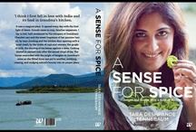 A SENSE FOR SPICE- MY BOOK / My book is an introduction to Konkan cuisine, one of India's richest food cultures, and a fast-paced story of a family with a passion for good food and good times.