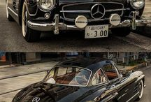 Classic and sport cars