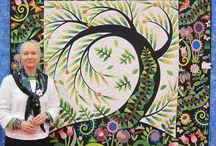 Jane Sassaman. / For freespirit fabrics.