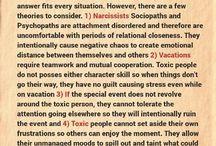 Psychopath & narcissist
