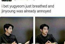 Jinyoung VS Yugyeom
