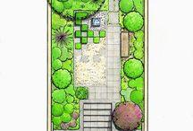 Trädgårdsritningar ~ Garden drawings