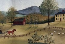 ✜ Murals ✜ / Handcrafted Murals by Lisa Curry Mair of Canvasworks Designs, Perkinsville, VT.