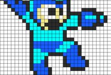 Hama beads NES