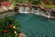 Rock Features Waterfalls