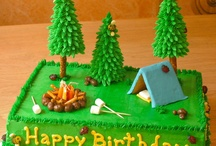 Camping Party Cakes / by Angela Mills