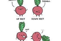 A 'beet' of a laugh / Fun beety stuff