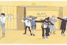 BTS arts