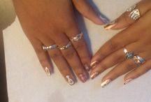 Nail art du nouvel an / mon nail art du nouvel an champagne et feu d'artifice fireworks and champagne