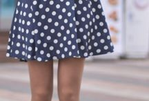 Polka Dots Street Style Winter Fashion ❤️