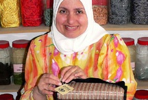 Glad Tidings ~ Jordan / For centuries, men and women in the Middle East have stitched their stories into a tapestry or carved them into olive wood. These age-old traditions are continuing to flourish with Glad Tidings in Jordan. From each sale of an item, the artisans—who are hearing-impaired or otherwise disabled—can afford to buy precious commodities such as food, clothing, shelter, and education.  / by WorldCrafts