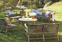 Outdoor Furniture / Summertime in Westport, CT is magical.  Great outdoor furniture makes it even better.