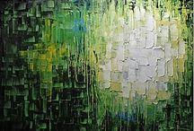 schilderij blokjes