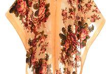 Jayley Kimono / Luxurious range of silk devoré kimonos at www.jayley.com