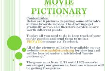 Movie Pictionary / in honor of our 1 year anniversary we are giving away over $200 worth of prizes - check out how you can win at our website   http://www.mobiletorch.org/movie-pictionary.html