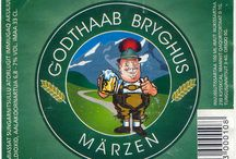 Greenland beer labels / Here are image from my collection of beer labels.  Do you want exchange beer labels ?   All rights reserved soplease ask about permission when you want use any of my images