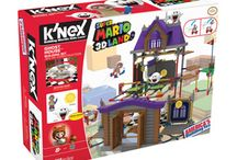 Nintendo Building Sets from K'NEX! / Go on a brand new adventure with Super Mario™ toys, exclusively from K'NEX. Launch Mario into action as you build levels, battle enemies and collect coins from your favorite Super Mario video games. Collect all K'NEX Super Mario toys and bring Mario's world to life!  / by K'NEX Brands