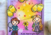 Cards Made with Jessica Lynn Original Stamps