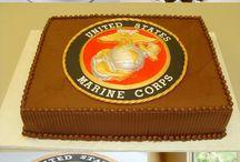 Cakes - Marines/Military