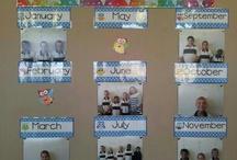 Verjaardagskalender voor in de klas / Suggesties voor diverse leuke verjaardagskalenders in jouw groep.