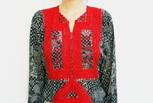 Afghani embroidered dress