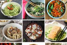 Spiralized Recipes - Low Carb