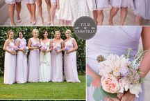 outdoor wedding (bridesmaids) / by Kylee Hillman