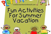 Summer FUN activities and crafts