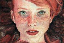 Illustration: portraits