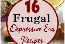 Frugal Food / Delicious food that won't break the bank