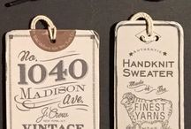 Hang Tags We Love! / Hang Tags!